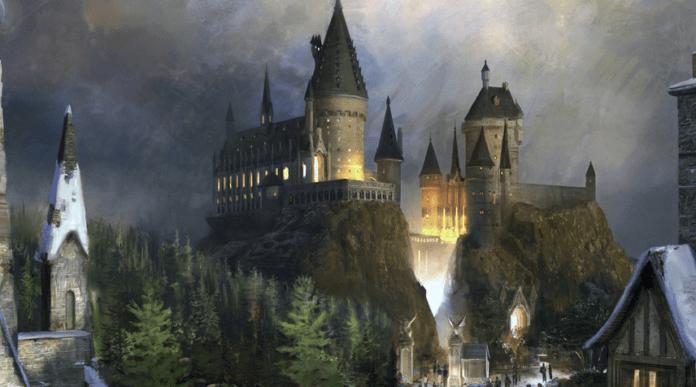 hogwarts-lucca comics- harry potter